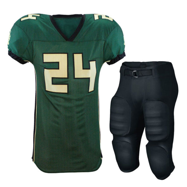 manufactures of american football unifoorms in sialkot